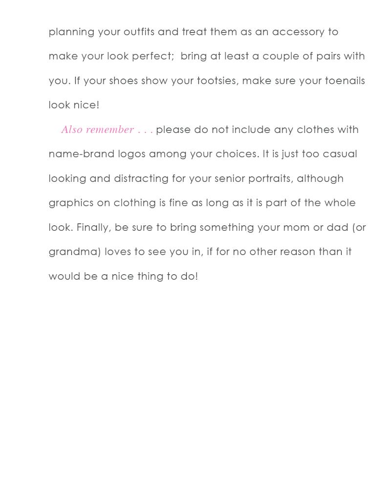 what to wear seniors girls 13